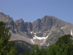 Rock Climbing Photo: Wheeler Peak.