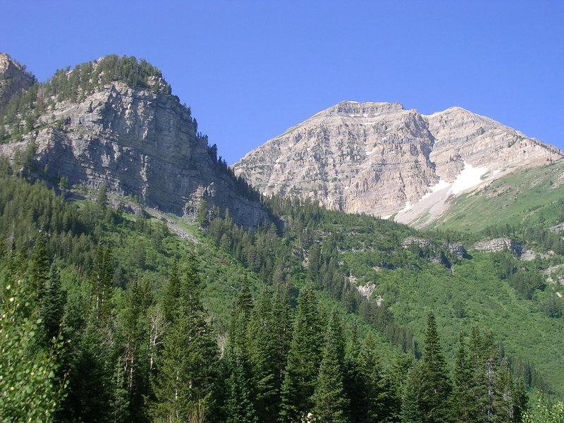 Mt. Timpanogos.