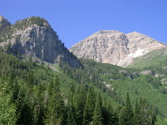 Rock Climbing Photo: Mt. Timpanogos.