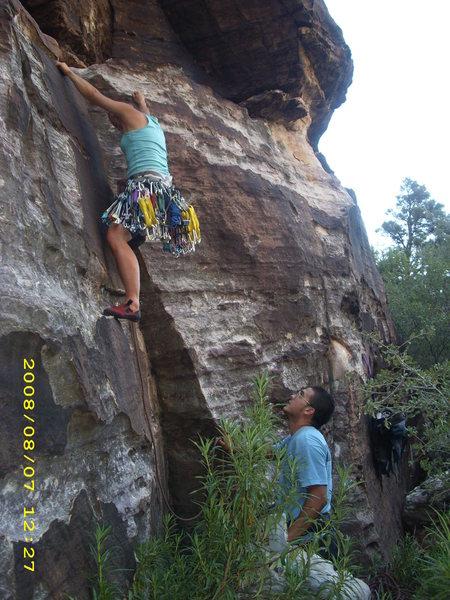 same climb