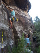 Rock Climbing Photo: same climb
