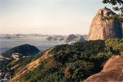Rock Climbing Photo: Pao de Acucar, or Suglarloaf, late 1988 or early 1...