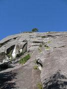 Rock Climbing Photo: 1st pitch of Till Broad Daylight.