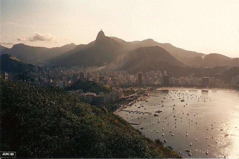 Rio De Janeiro, late 1988 or early 1989.