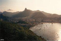 Rock Climbing Photo: Rio De Janeiro, late 1988 or early 1989.