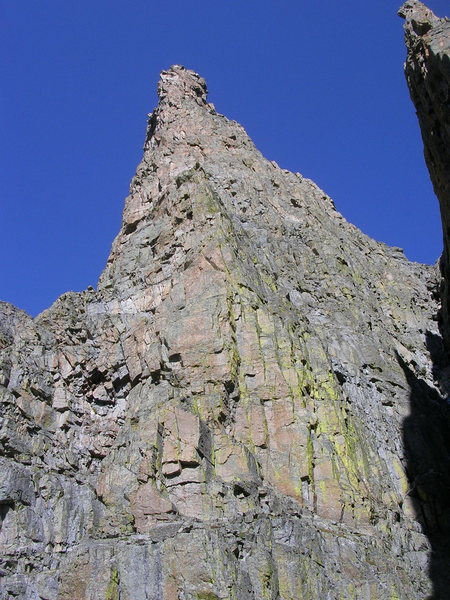 South Face of Sharkstooth.