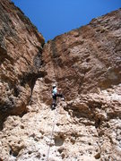 Rock Climbing Photo: Getting started on the real climbing after the sho...