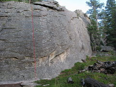 Rock Climbing Photo: Flying High.