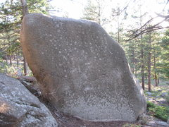 Rock Climbing Photo: The first time I saw this thing there was chalk on...