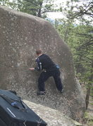 Rock Climbing Photo: In action on one of the sends.