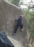 Rock Climbing Photo: It's not quite over yet.