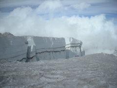Rock Climbing Photo: Mega Crack; Mt. Rainier