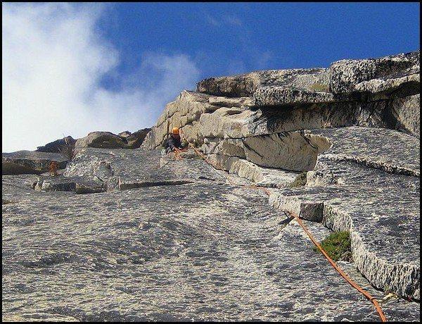 Rock Climbing Photo: The corner on p2