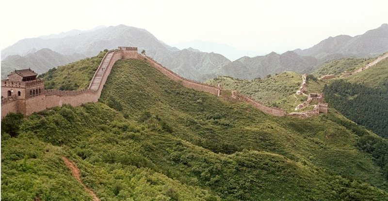 The Great Wall.  Summer 1990.