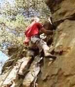 Rock Climbing Photo: B-rad local crag