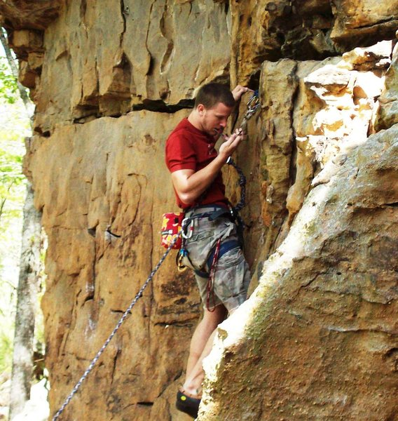 Rock Climbing Photo: B-rad