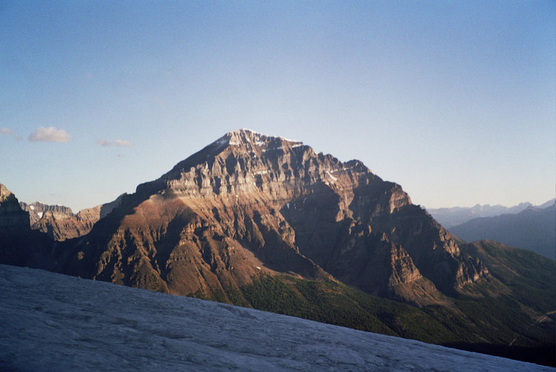 The mighty South Face Of Mt. Temple
