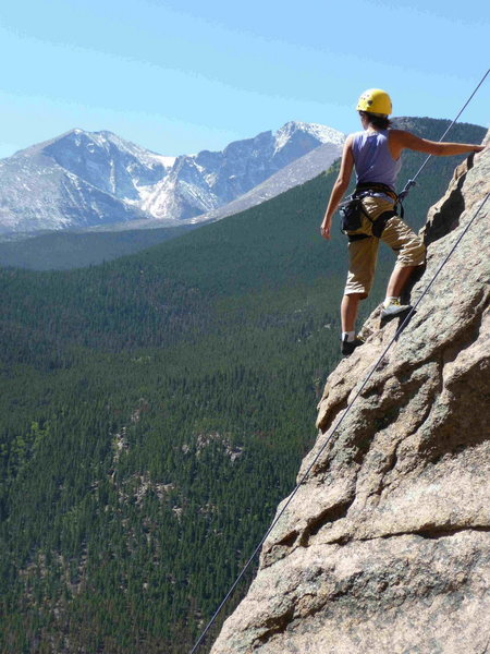 Rock Climbing Photo: Taylor Martinson on Coloradoddity.