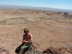 Rock Climbing Photo: desert lovin