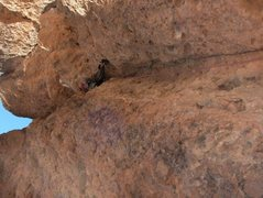 Rock Climbing Photo: first send NM