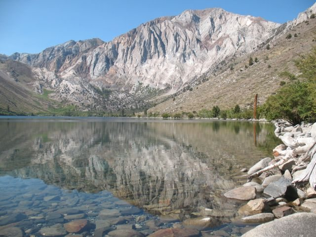 Convict Lake and Laurel Mountain, Sierra Eastside