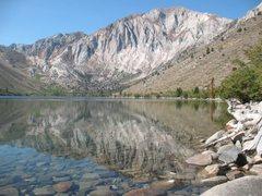 Rock Climbing Photo: Convict Lake and Laurel Mountain, Sierra Eastside