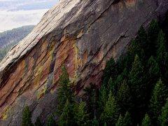 Rock Climbing Photo: Just Another Boy's Climb 5.12a.