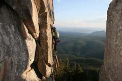 Rock Climbing Photo: Just past the intitial crux.