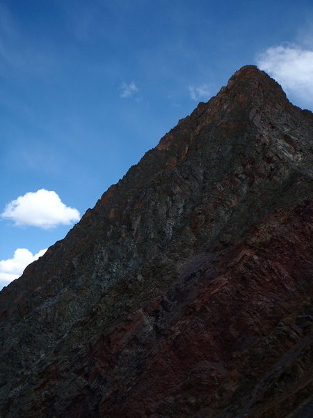 Rock Climbing Photo: The west face of Vestal. Wham Ridge is on the left...