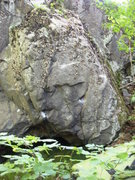 Rock Climbing Photo: hartley boulder