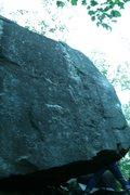 Rock Climbing Photo: front face of next bloc