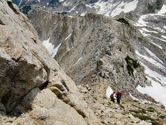 Rock Climbing Photo: Going back down the Pfeifferhorn in LCC, Utah.  Lo...