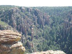 Rock Climbing Photo: Totum Pole of Chiricahua NM