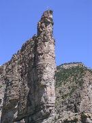 Rock Climbing Photo: Interesting line?