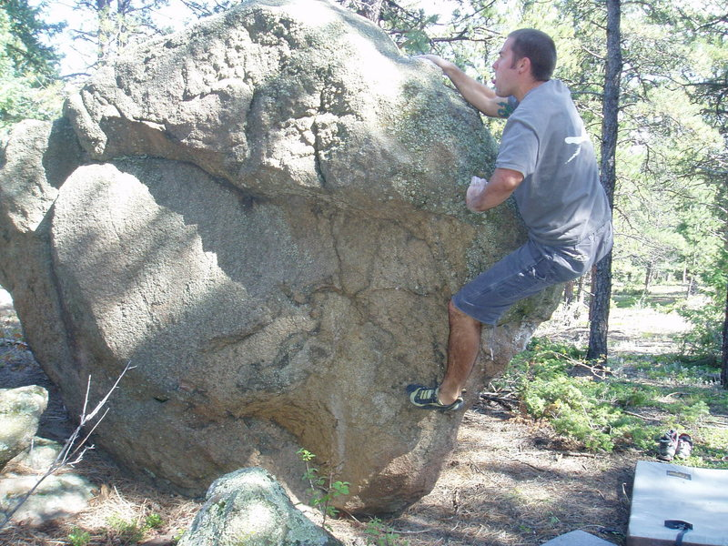 Rock Climbing Photo: Hello Central: Enjoy it while it lasts.