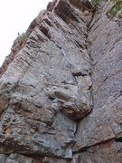 Rock Climbing Photo: Looking up from the bottom