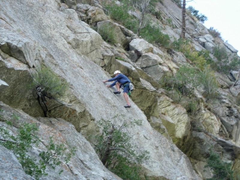 Rock Climbing Photo: E Rock following P1