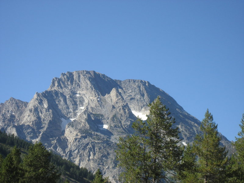 Rock Climbing Photo: Mount Moran