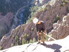 Rock Climbing Photo: Vertigo Rappel