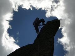 Rock Climbing Photo: edge of time