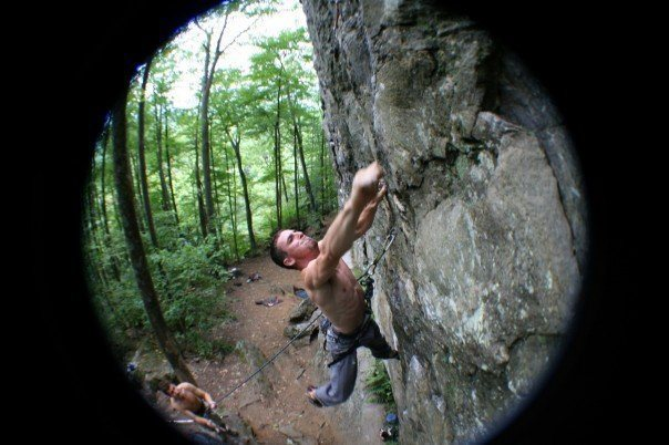 NH, Rumney, 5.8 Crag, Arm and Hammer - 11.c