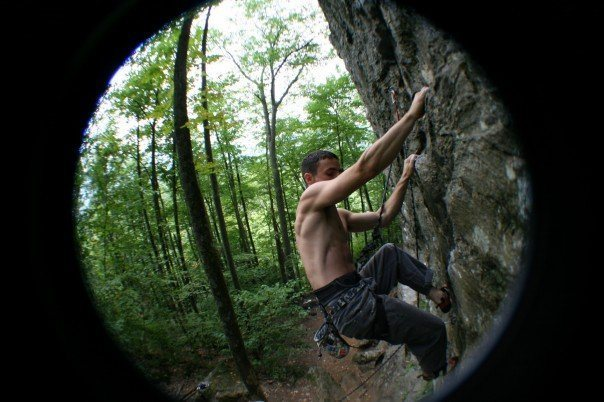Rock Climbing Photo: NH, Rumeny, 5.8 Crag, Arm and Hammer - 11.c