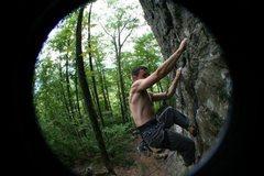 Rock Climbing Photo: NH, Rumeny, 5.8 Crag, Arm and Hammer - 11.c