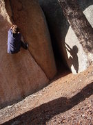 Rock Climbing Photo: Picture through the eyes of a 5 yr old.