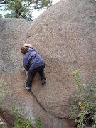 Rock Climbing Photo: 5 yr old took this shot.