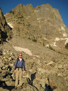 Rock Climbing Photo: just before starting the great diherdral route on ...