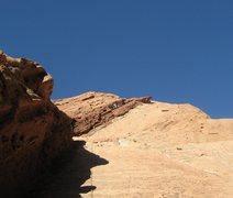 Rock Climbing Photo: John on first pitch.