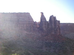 Rock Climbing Photo: Ranger station is just out of frame to the left.  ...