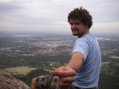 Rock Climbing Photo: Keepin' it friendly in Boulder (tobacco of course)...