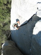 Rock Climbing Photo: Jeff Crow, Moby Dick.